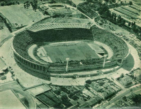 The old Sporting Clube de Portugal Stadium in Lisbon - Portugal