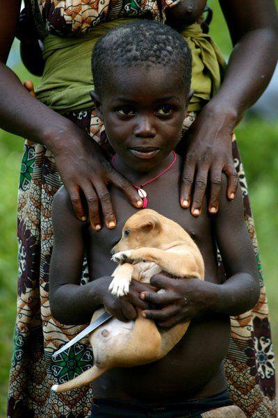 My new puppy . Guinea Bissau