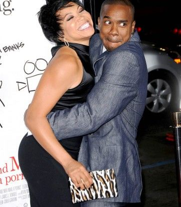 """Duane Martin & Tisha Campbell-Martin. These two have been married since 1996. So what's the secret? Duane says, """"We don't know what we're doing."""" Gotta love a part-time comedian as a hubby! - See more at: http://madamenoire.com/130717/he-loves-me-men-who-just-adore-their-wives/4/#sthash.cGa6PpZ4.dpuf"""