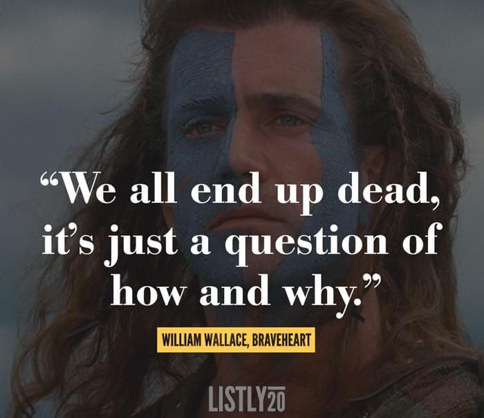 a look at the interesting life of william wallace The story of sir william wallace has been immortalised by mel  was done fairly  quickly, as wallace had died by now, so the 'fun' was gone.