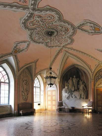 Castello Giarole, Piemonte, Italy.