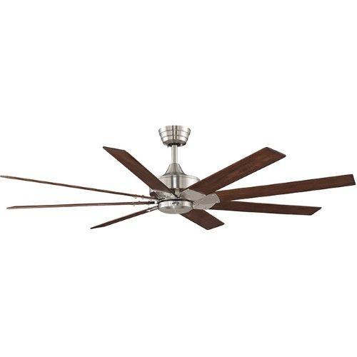Fanimation Fans FFP7910BN Levon Oversize Fan (60'' and Larger) Ceiling Fan - Brushed Nickel at Shop.Ferguson.com