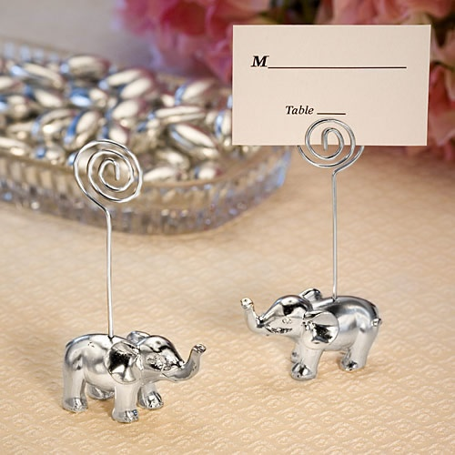 Elephant Place Card Holders - Perfect For The Asian Wedding Theme. www.ceceliasbestwishes.com