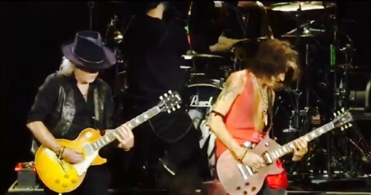 Brad Whitford and JoePerry