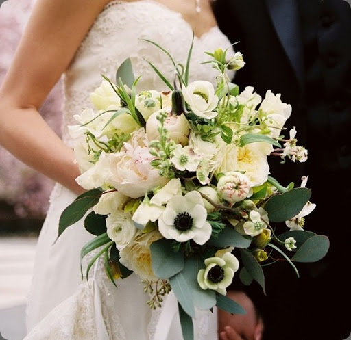 Blush Peonies, White Ranunculus And Anemones On Pinterest