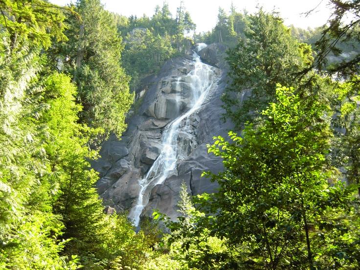 Shannon Falls  Squamish, BC (Photo by Aryan Baines)