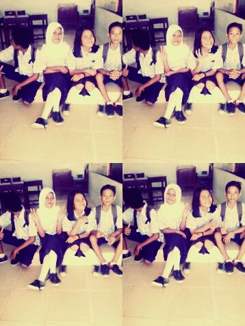 Teman-Teman || SMPN 5 PALU || Kelas : VIII