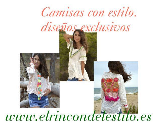 Camisas unicas by beatrizcarmonamendoza on Polyvore featuring moda
