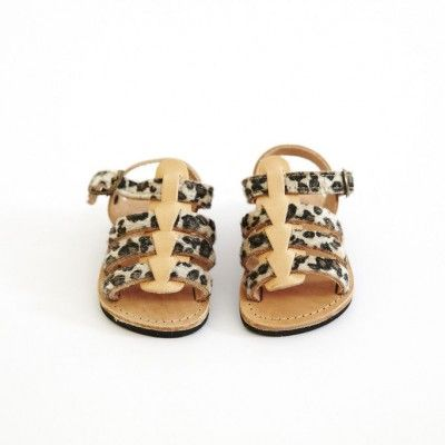 Gladiator Sandals - Leopard