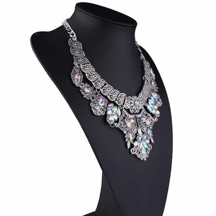 Do You Love This? Flowers Crystal V... Is Excusively Available On Our Store. Get Your Now! >> http://jewelsnlooks.com/products/flowers-crystal-vintage-hollow-statement-luxury-necklace?utm_campaign=social_autopilot&utm_source=pin&utm_medium=pin