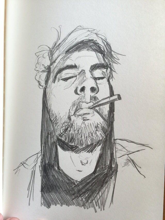 100 stylized portraits number 34-Matt Fontaine