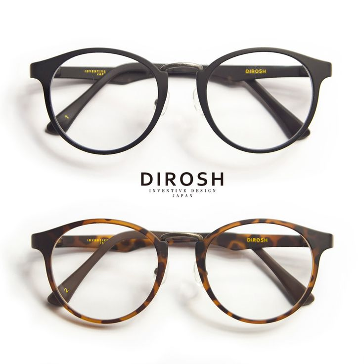 DeRoche/metal/DIROSH & sercombe lightweight bostonmegane / round glasses and prescription glasses / ITA glasses