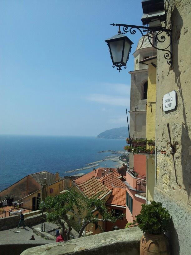 Angolo incantevole di #Liguria a #Cervo