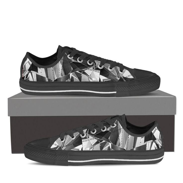 Women's Low Top Sneakers Black Diamond