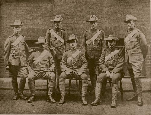 boer war | Boer War :Post Office 24th Middlesex 8th VB The Rifle Brigade CIV