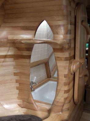 SIMON BIRTWISTLE A BOAT CALLED PILGRIM Inside the bathpod WOW