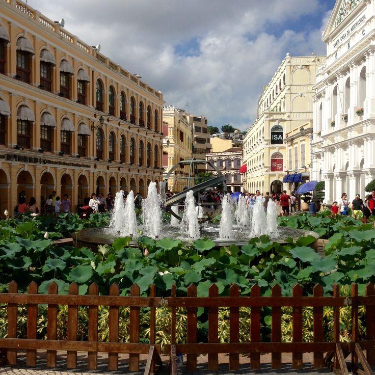Senado Square is part of UNESCO Historic Centre of Macau World Heritage Site.                       Lacation: Lagro Senado Macau.