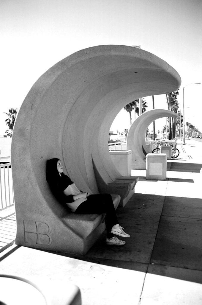 Huntington Beach bus stop. Visit the slowottawa.ca boards http://www.pinterest.com/slowottawa/