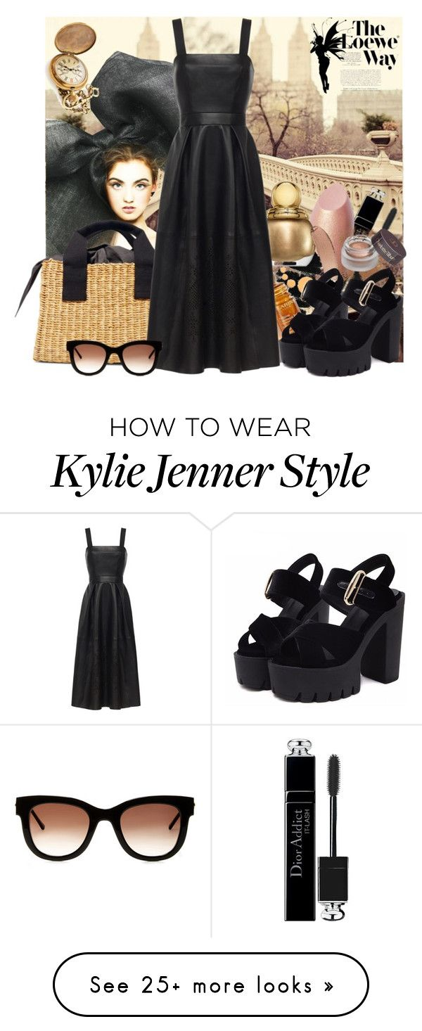 """""""Easy dress"""" by j477 on Polyvore featuring Christian Dior, Bobbi Brown Cosmetics, Loewe, Thierry Lasry, contest and easydresses"""