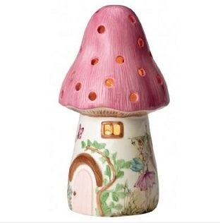 Dewdrop Toadstool Lamp Pink bday idea
