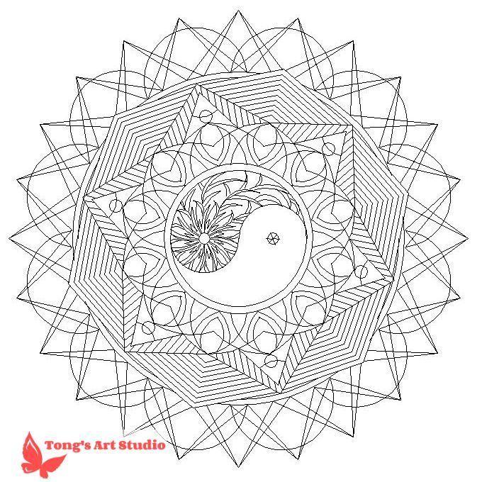 Mandala Coloring Page 014 Mandala And Coloring Pages