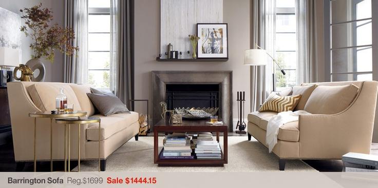 Love this monochromatic living room interior design for Monochromatic living room ideas