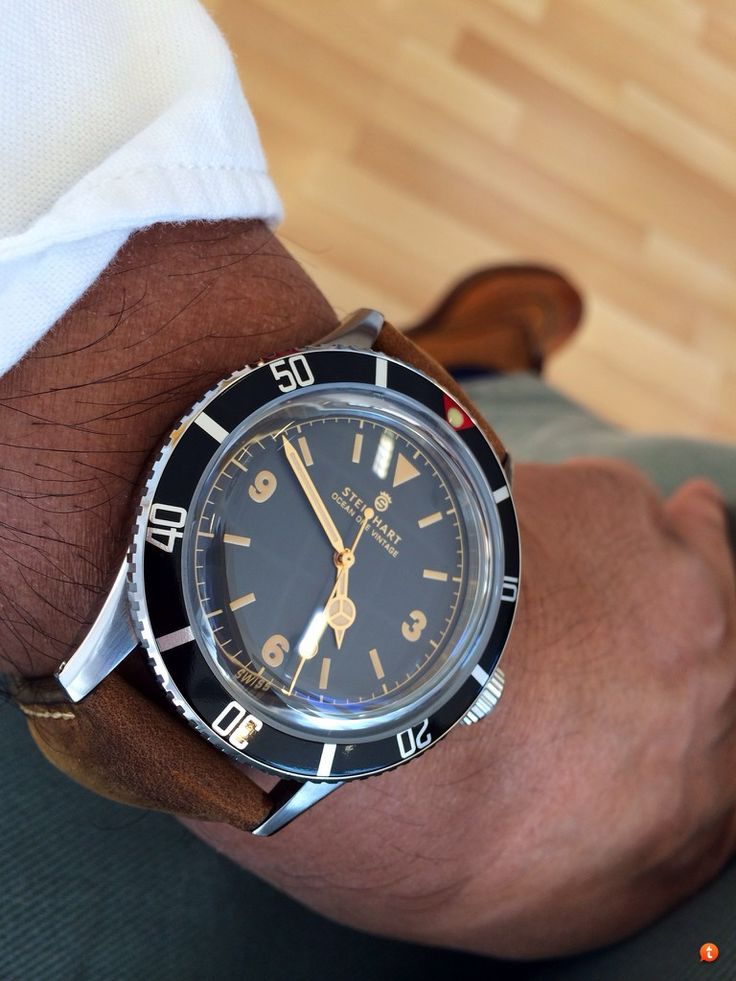 STEINHART OCEAN One Vintage 42mm Stylish Things That May Or