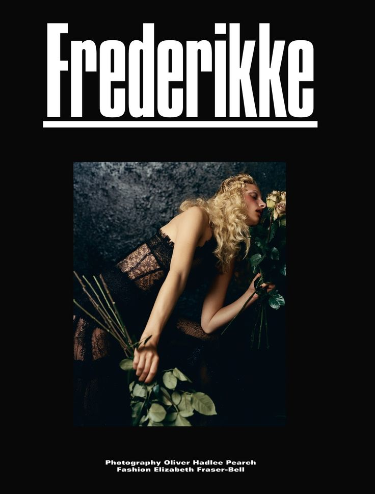 frederikke sofie falbe-hansen by oliver hadlee pearch for dazed fall 2015 | visual optimism; fashion editorials, shows, campaigns & more!
