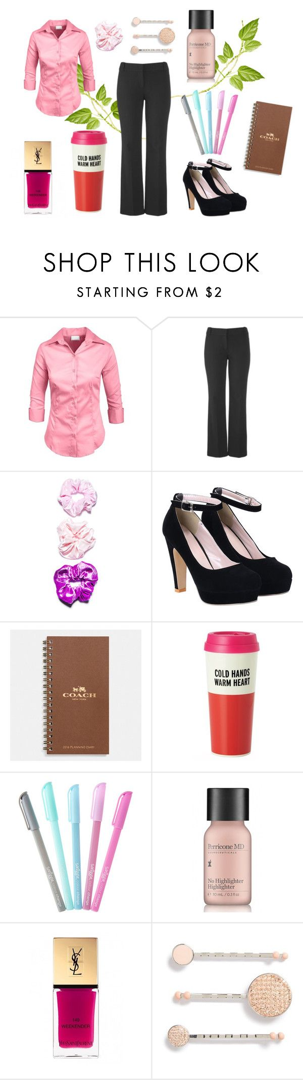 """""""2 X 17 Dead Uncles and Vegetables - Lorelai 4 - Gilmore Girls"""" by faedissey on Polyvore featuring mode, maurices, O-Mighty, Coach, Kate Spade, Perricone MD, Yves Saint Laurent et Marc Jacobs"""
