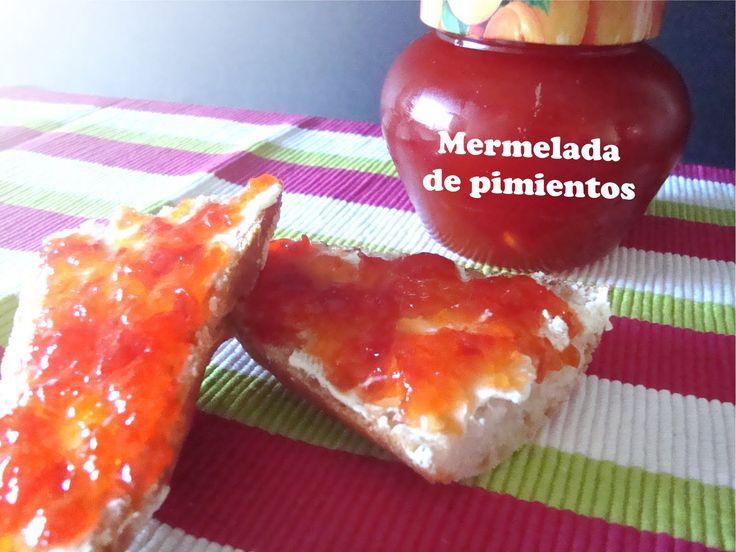 5 SeNtIdOs En La CoCiNa: Mermelada de pimiento rojo