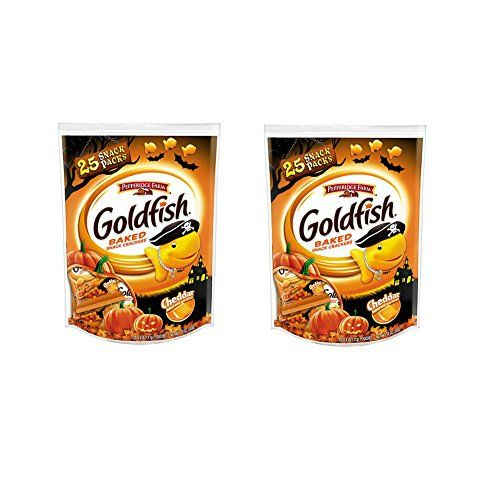 #Pepperidge #Farm #Goldfish #Crackers #Halloween #Snack #Packs, #Cheddar, #25 #count #Cheddar #goldfish #snack pack pouches with festive #Halloween graphics Healthier #snack for trick or treating Individually wrapped pieces, perfect for sharing https://food.boutiquecloset.com/product/pepperidge-farm-goldfish-crackers-halloween-snack-packs-cheddar-25-count/