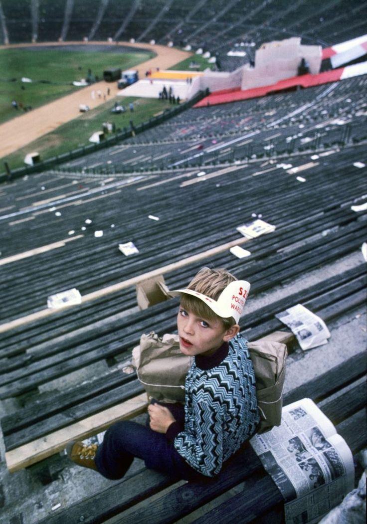 Warszawa Stadion, 1979, fot. Chris Niedenthal