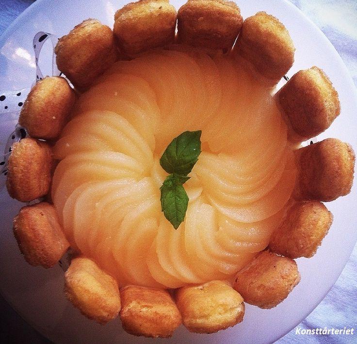 Pear Charlotte cake, Gluten Free!
