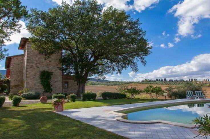Villa e parco a Siena, Toscana | findhouseitaly