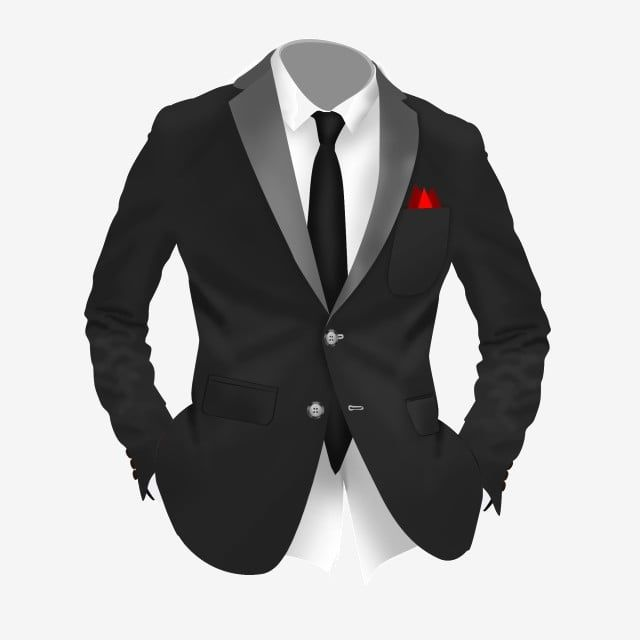 Free Cartoon Black Suit Colorful Tie White Shirt Yellow Suit Png Transparent Clipart Image And Psd File For Free Download Black And Red Suit Yellow Suit Free Cartoons