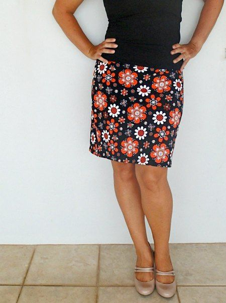 Half Hour Free Skirt Pattern - A free skirt pattern that only takes 30 minutes? Make the mini skirt pattern you are sure to love.