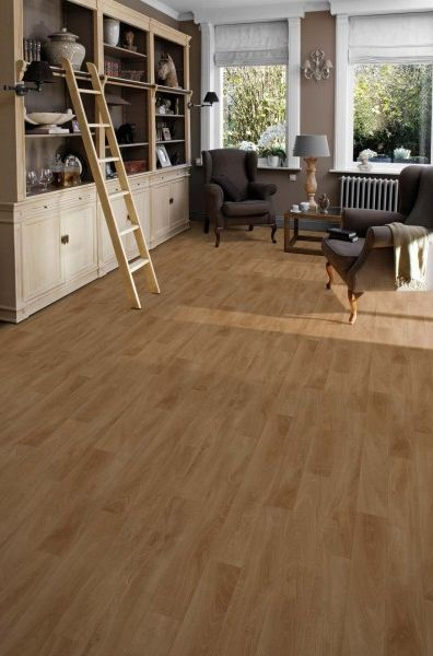 "Sol PVC en rouleau imitation parquet | Tarkett Essentials 220T ""5659011 French Oak Light Natural"" - BRICOFLOR"