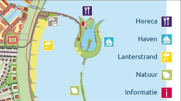 Ontwerp Tulp eiland Zeewolde