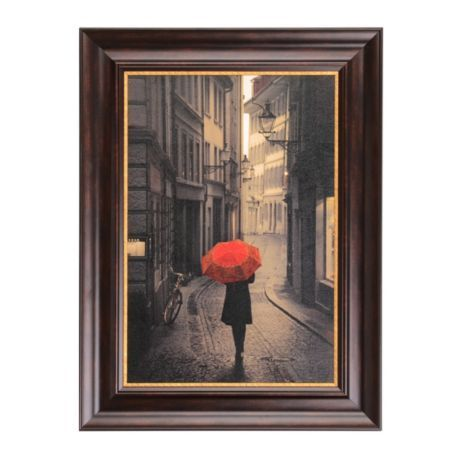 Red Rain Framed Art Print Art Prints Products And
