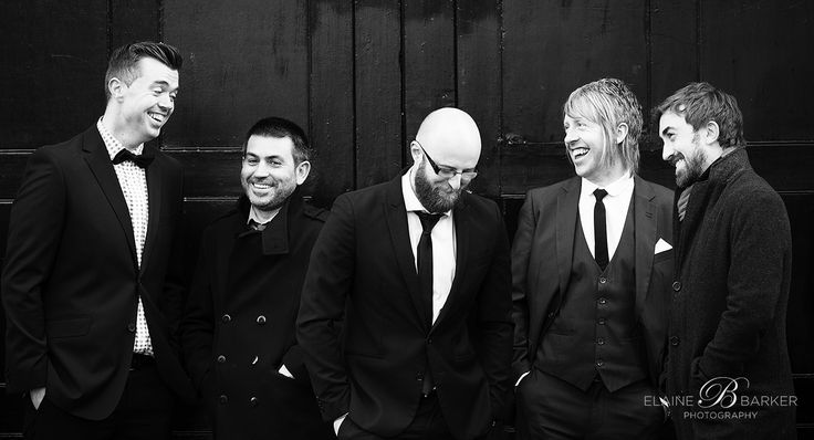 The boys!!! Marvin and the Grooves are a brilliant floor filling wedding band!