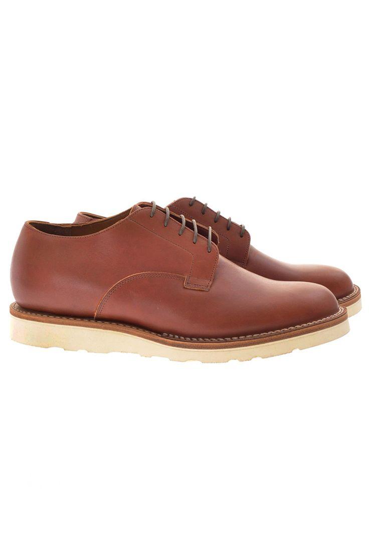 Derby Shoe Christy in Chicago Tan Latigo