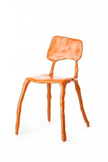 Design chair - Clay furniture - by Maarten Baas - read more: http://myartistic.blogspot.com/2008/11/171108-maarten-baas-artista-designer.html