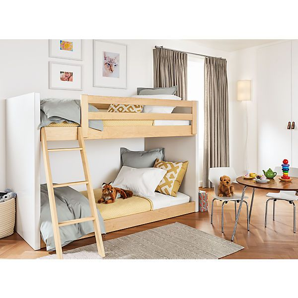 Percale Duvet Cover Modern Kids Furniture Bunk Beds Kid Beds