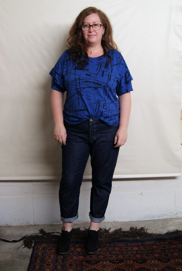 5158cc56bc Morgan Jeans sewing pattern review from Closet Case patterns on The Fold  Line