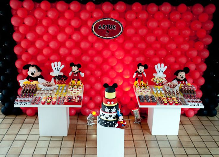 Mickey Themed Party