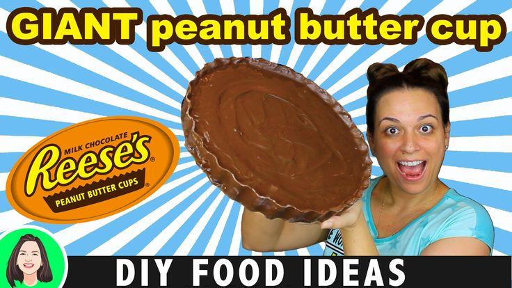 "DIY Giant Reeses Peanut Butter Cup | How To Make World's Biggest Peanut Butter Cup! ""No Bake""  #giantfood #diy #candybar #peanutbutter #peanutbuttercup #doityourself #giantcandy #candy #candybar #reeses #worldsbiggest #howto #nobake #forkids #chocolate #foodhacks #hacks #diyfood #diyfoodideas   https://youtu.be/p3YlabrNyN0"