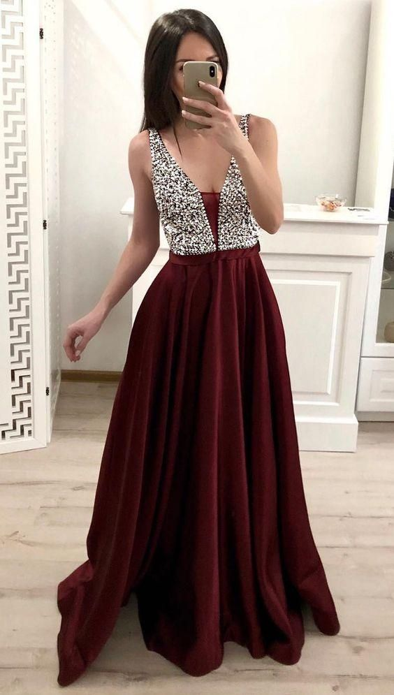 New Style Prom Dress, Evening Dress, Formal Dresses, Graduation School Party Dance Dress, DT0371 3