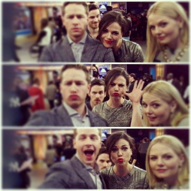 LOOK AT COLIN PHOTOBOMBING IN THE BACK!!!!! :)