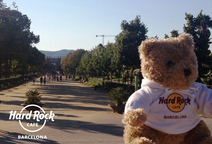 Taking a stroll in Parc de la Ciutadella