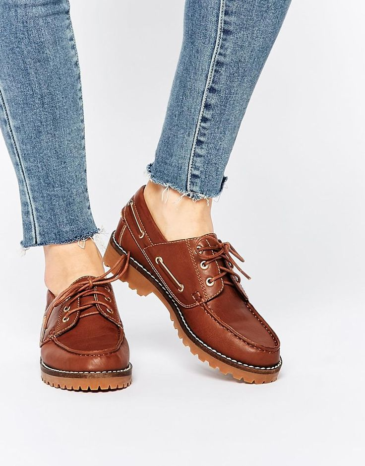 Image 1 ofASOS MOSAIC Deck Shoes